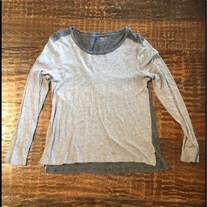 Madewell Grey Long Sleeve T-shirt - Size L (EUC)
